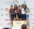 Zwyciężczynie Susz Triathlon 2014