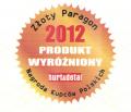 """Wyróżnienie dla worków Jana Niezbędnego w konkursie """"Złoty Paragon 2012"""""""
