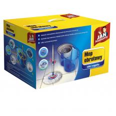 mop obrotowy z mikrofibry