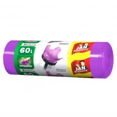 Worki na śmieci kolor mix 60l